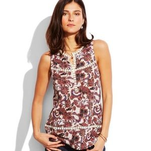 Lucky Brand Floral Print Tunic